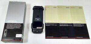 NEW GENUINE AUDI APPLE IPHONE 5 5S BLUETOOTH HANDSFREE PHONE CRADLE ADAPTER