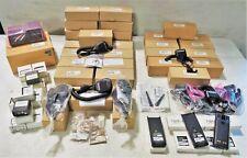 Lot Of Motorola Accessories - Batteries, Chargers, Speakers W/ Mics & Antennas