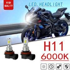 2x 70W 2SMD LED Headlight High Low Beam Bulb For Suzuki Gsxr600 Gsxr750 Gsxr1000