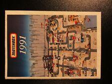 Matchbox Katalog - Collectors Catalog 1991
