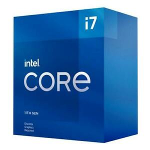 Intel Core i7-11700F Desktop Processor - 8 cores and 16 threads - Up to 4.9 GHz