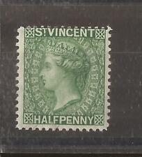 ST VINCENT 1883 1/2d  mh