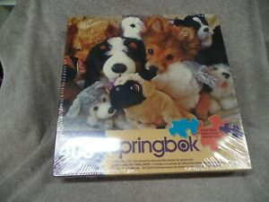 Springbok Playtime Puppies Puzzles 400 Pieces SEALED