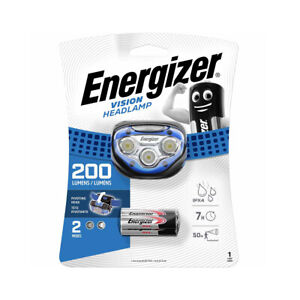 Energizer LED Head Torch 50 Metre HD Tactical Headlamp With 3 x AAA Batteries