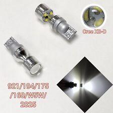 T10 W5W 168 194 175 2825 12961 6K XBD LED Bulb Corner Reverse Backup B1 12