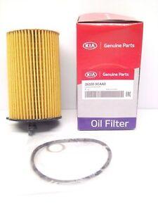 Genuine Kia Oil Filter Cartridge Element 263203CAA0 Carnival