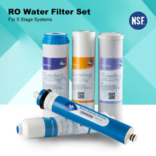 Reverse Osmosis Replacement Water Filter Set RO Cartridges Home Drinking System