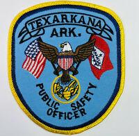 Texarkana Public Safety Officer Police Fire Arkansas AR Patch