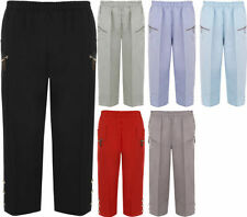 Polyester Cargos Plus Size Trousers for Women