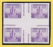 US STAMP SC# 767 CGBL4 3c 1934 **MINT NH CV$20.00 862