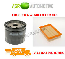 PETROL SERVICE KIT OIL AIR FILTER FOR FORD FIESTA 1.4 90 BHP 1996-02