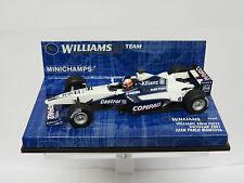 Williams F1 BMW FW22 JP Montoya Showcar 1:43 Minichamps 430010096