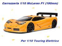 BODY Carrozzeria 1/10 McLaren F1 da 190mm per fro Elettrico XRAY WRC (No Paint)