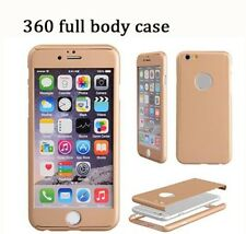 Ultra-thin 360* Full Body Coverage Protective Case w Tempered Glass iPhone 8