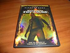National Treasure (DVD, 2005, Widescreen)  Nicolas Cage Disney Used