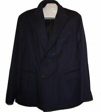 Hugo Boss Navy Mens Warm Wool Cashemir Jacket Size US 46 R EU 56  $560