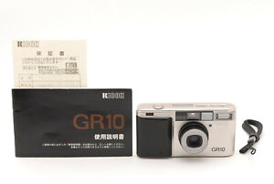 【N MINT】RICOH GR10 35mm Point & Shoot Film Camera w/Manual Strap From Japan