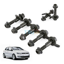 5x Auto Car Steel Four Wheel Alignment Adjustable Camber Kit Cam Bolt 12mm