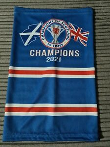 Rangers Champions Snood Face cover 55 Times WATP