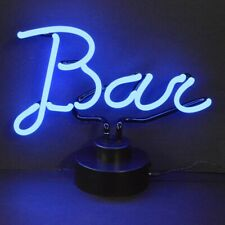 Bar Script Neon Sculpture by Neonetics