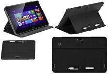 Dell Latitude 10 & XPS 10 Tablet Enhanced Security Soft-Touch Cover Case : Black