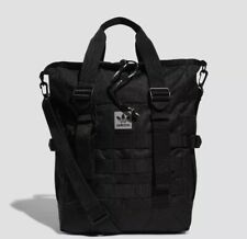 adidas Originals Men's Utility Carryall Tote Bag New Black Authentic Backpack