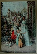 Vintage Victory Gold Box Wooden Jigsaw Puzzle - New Love Song (Cries of London)