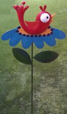 """Garden Lawn Yard Decoration Whimsically Styled Red Bird NEW 48"""" tall"""