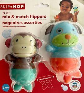 Skip Hop Mix and Match Flippers Bath Toys Dog/Monkey