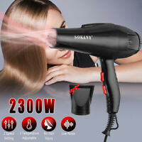 2300W Professional Hair Dryer Styling Salon Hairdressing Low Noise Blower  New