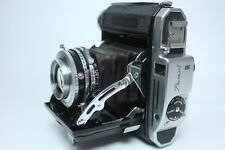Konica Pearl III Camera Body with Hexar 75mm f3.5 from Japan Excellent++