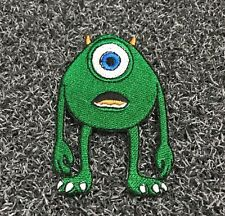 MIKE SULLY MONSTERS INC DISNEY CARTOON Embroidered Patch Iron Sew Logo Emblem