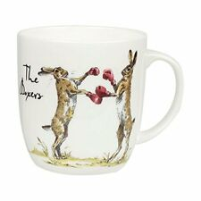 Queens by Churchill Fine Bone China Country Pursuits - The Boxers -Hares