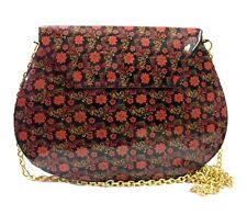 Printed Embroidey texture Cross Body Party Purse Bridal bag Antique Metal bags