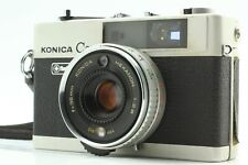 [EXC4 w/ Strap] KONICA C35 Flash matic HEXANON 38mm f/2.8 Rangefinder From JAPAN