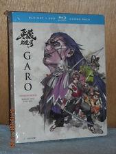 Garo the Animation: Season Two, Part One (Blu-ray/DVD, 2017, 4-Disc Set) anime