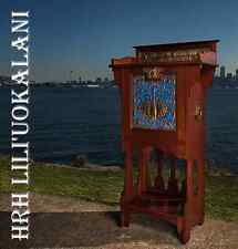 THE HONOLULU CABINET queen liliuokalani hula music antique hawaiian furniture