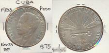Havana 1953 Peso KNM-29 EF