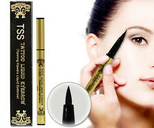 TSS 7days Tatoo Liquid Semi-permanent Eyebrow TANNING Waterproof 3ml Black Gray