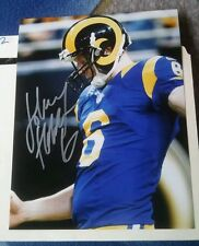 Los Angeles Rams JOHNNY HEKKER autographed 8x10 photo JH6
