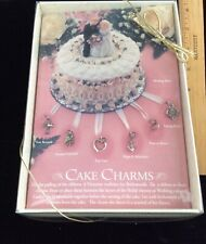 wedding cake charms box set old store stock in mint condition