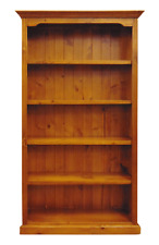 RRP$599 Solid Pine Timber Bookcase 6FT 180cm 5 Shelf Large Newcastle Sydney 6x3
