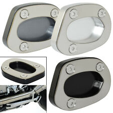 Kickstand Side Stand Enlarger Plate Pad For TRIUMPH Speed Twin 1200 2018-2021