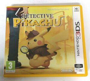 Detective Pikachu Nintendo 3DS 3DSXL Game