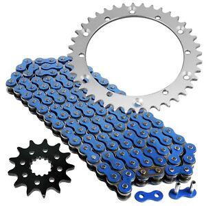 Blue Drive Chain And Sprockets Kit for Yamaha Raptor 660R YFM660R 2001-2005