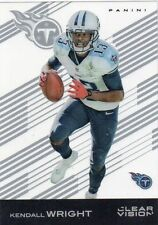 KENDALL WRIGHT #58 TEXANS BAYLOR 2015 Panini Clear Vision Football Acetate