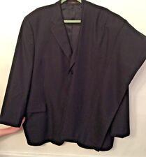 """48R Joseph Abboud Black 100% Wool Men's Suit 2 Piece Pants 42"""" x 28"""""""