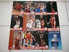 Washington Bullets Sports Card Sheet - SGA - Features 11  1994 Players