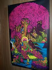 "Magic Forest Blacklight Poster 22"" x 24"" 1972 Saladin Productions - Petagno III"