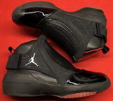 2008 Jordan Retro XIX 19 Black Red Bred CDP Playoffs XI XII 332549-001 Sz 9.5
